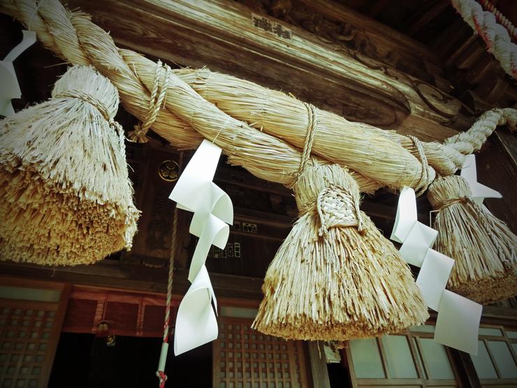 土津神社にて