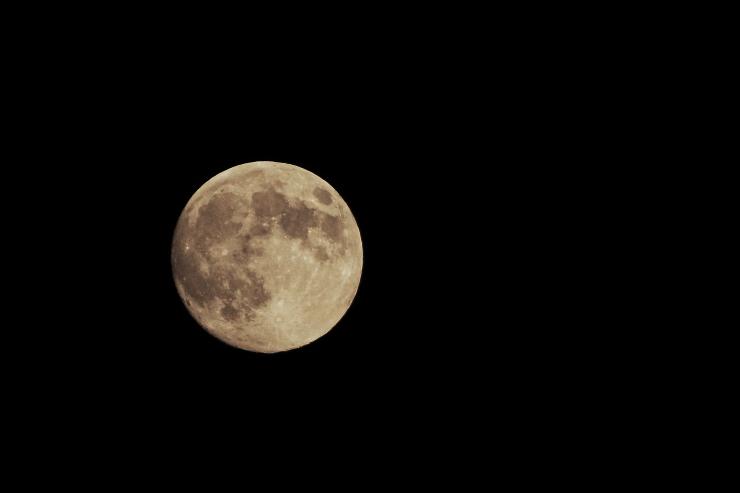 福島の、中秋の名月