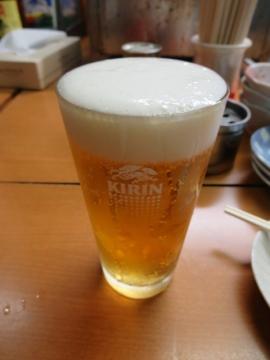 生ビール(一番搾り) 500円