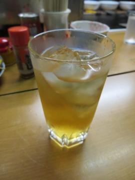 梅酒(五代梅酒焼酎造り・ロックで) 450円