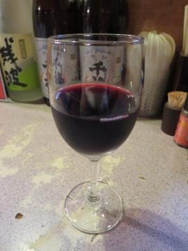 グラスワイン(赤) 500円