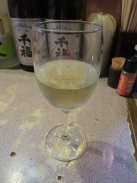 グラスワイン(白) 500円