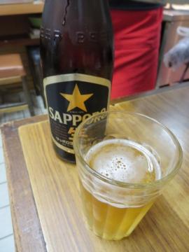 瓶ビール(中瓶)500円