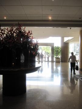 ・ホテルロビー