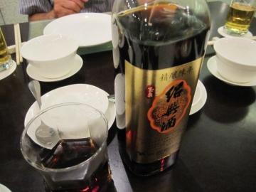 ・台湾麦酒と紹興酒をいただきました
