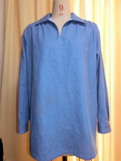 オーダーデニムシャツ400