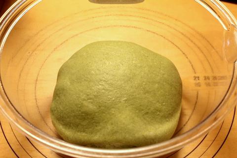 14.03.03ほうれん草チーズ食パン_生地