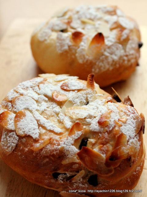 14.04.02チョコとナッツのパン