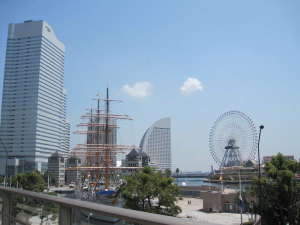見慣れた横浜の風景