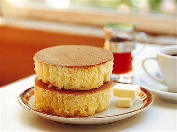 イワタコーヒーのホットケーキ