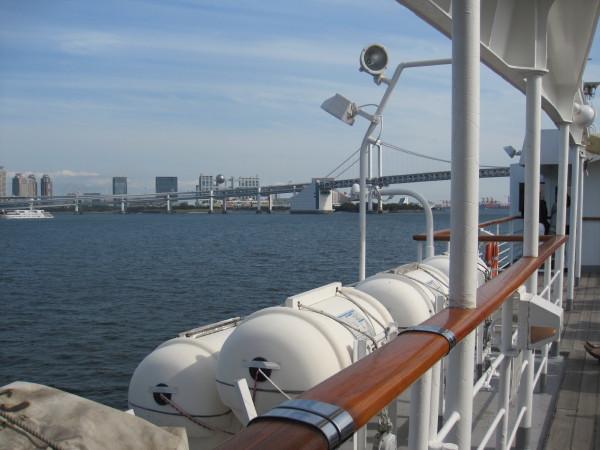 船上からの東京湾