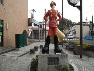 石巻 サイボーグ009像(1)