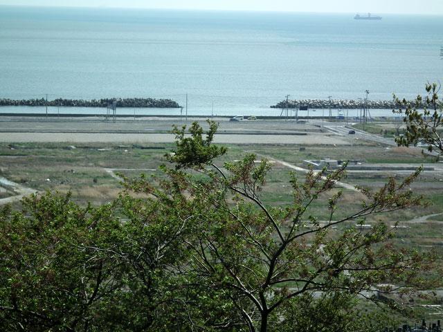 石巻 日和山から見た被災地風景(4)
