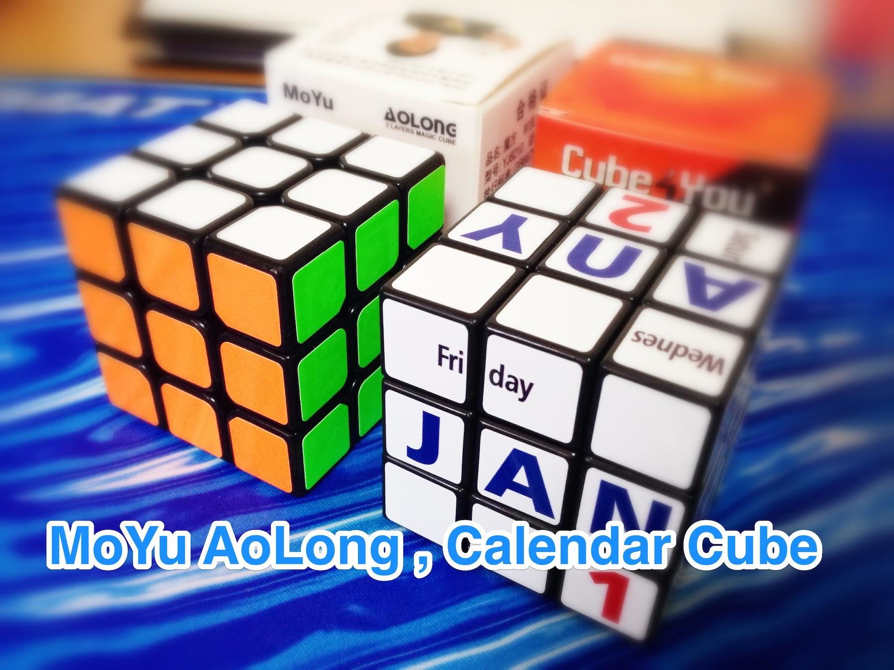 MoYu AoLong,Calndar Cube
