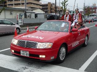 武者行列(3)