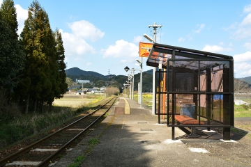 西相知駅改修(1)