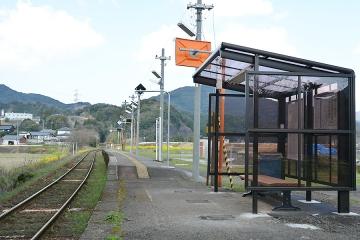 西相知駅改修(2)