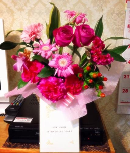 一周年お花 (427x500)