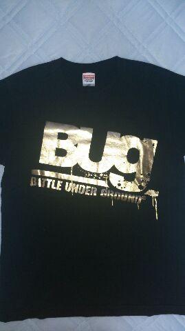 Bug黒Tシャツ