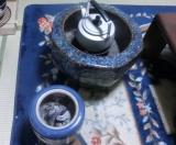 大きな火鉢と小さな火鉢