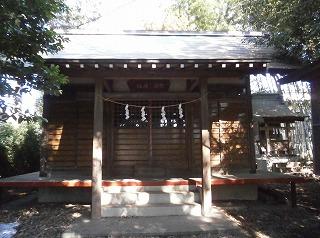 兜稲荷社殿