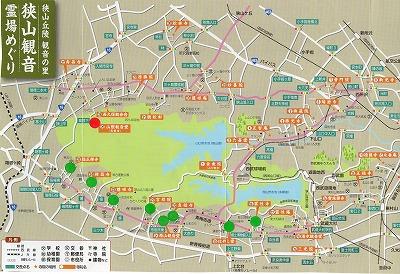 山際観音地図