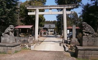 伊波比神社一鳥居