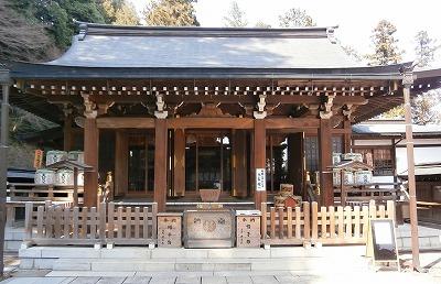 高麗神社社殿