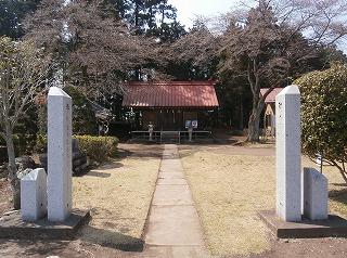 野々宮神社全景