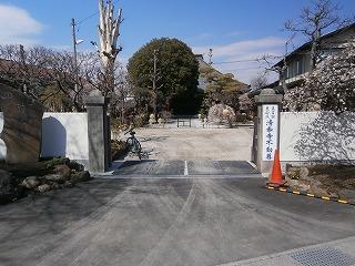 清泰寺入口