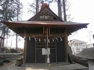八幡神社境内1