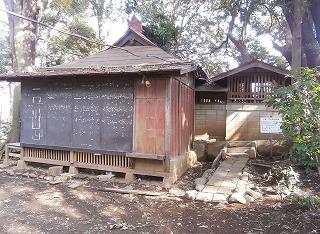 山之神神社社殿 (2)