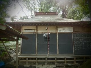山之神神社社殿