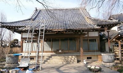金仙寺本堂