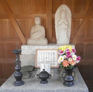 金仙寺大師像