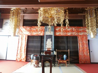 常楽寺内部