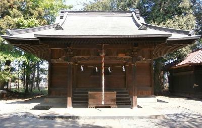 二本木神社拝殿