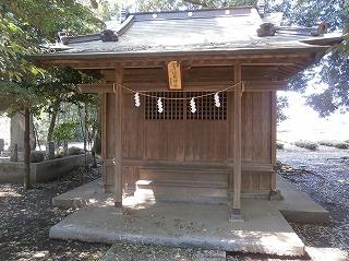 二本木神社境内2