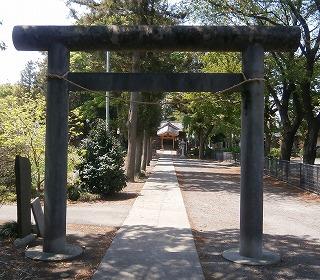 林神社二鳥居