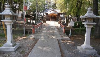 林神社神橋