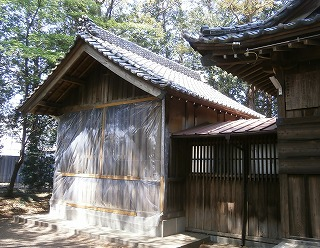 林神社本殿