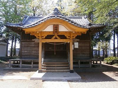 林神社拝殿