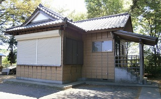 林神社神楽殿