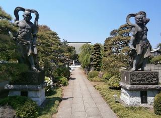 松林寺力士像