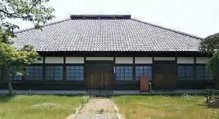 新発田宝光寺本堂