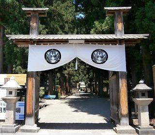 米沢廟所門