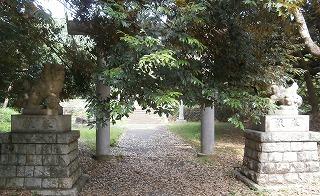 玉湖神社鳥居2