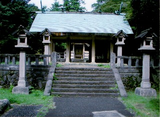 玉湖神社拝殿132