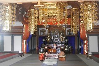全徳寺本堂内部