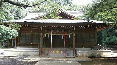 北野天神拝殿